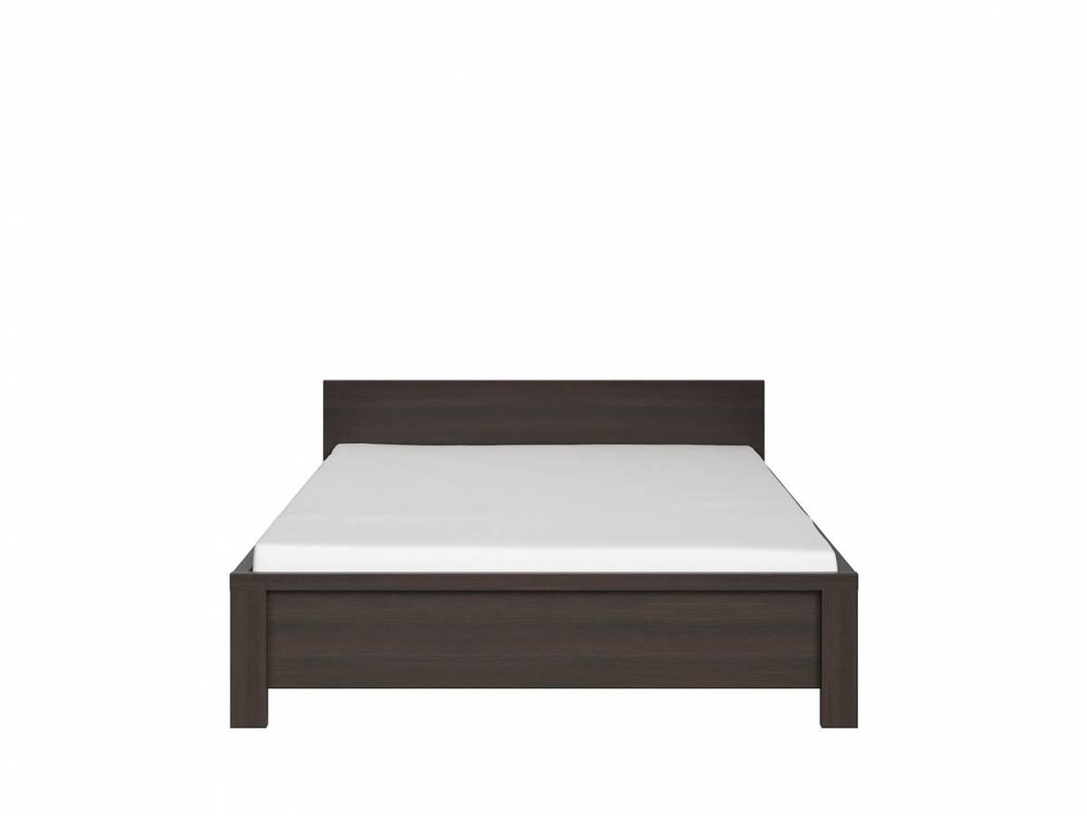 Manželská posteľ 140 cm Kaspian LOZ/140 (wenge)