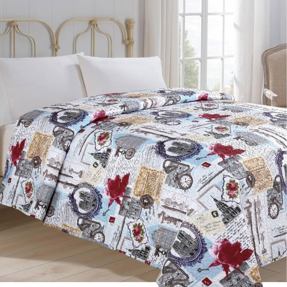 Jahu Prehoz na posteľ Hodiny, 140 x 220 cm