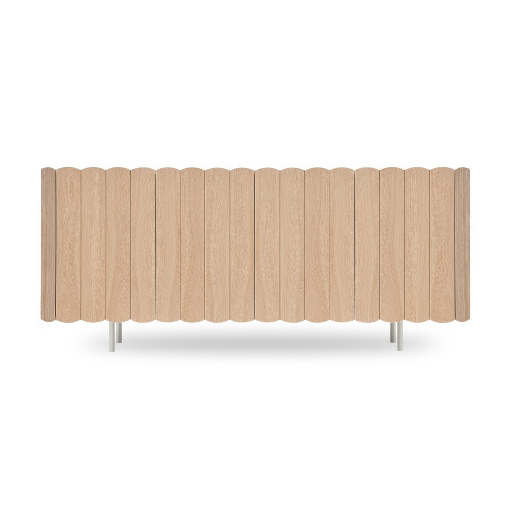 Komoda z bukového dreva HARTÔ Cesar, dĺžka 160 cm