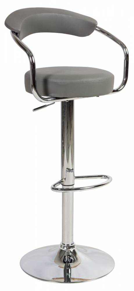 KROKUS C-231 barová stolička, šedá