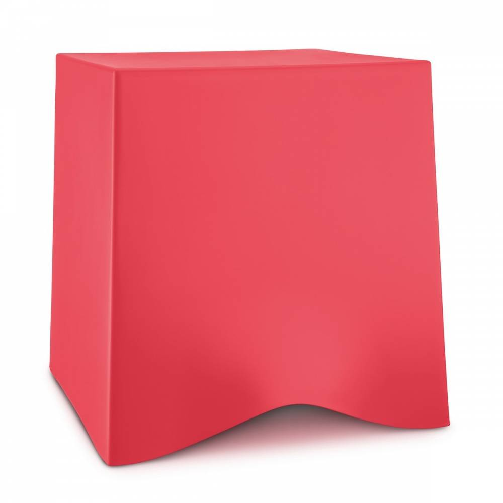 Koziol Taburet Briq, červená
