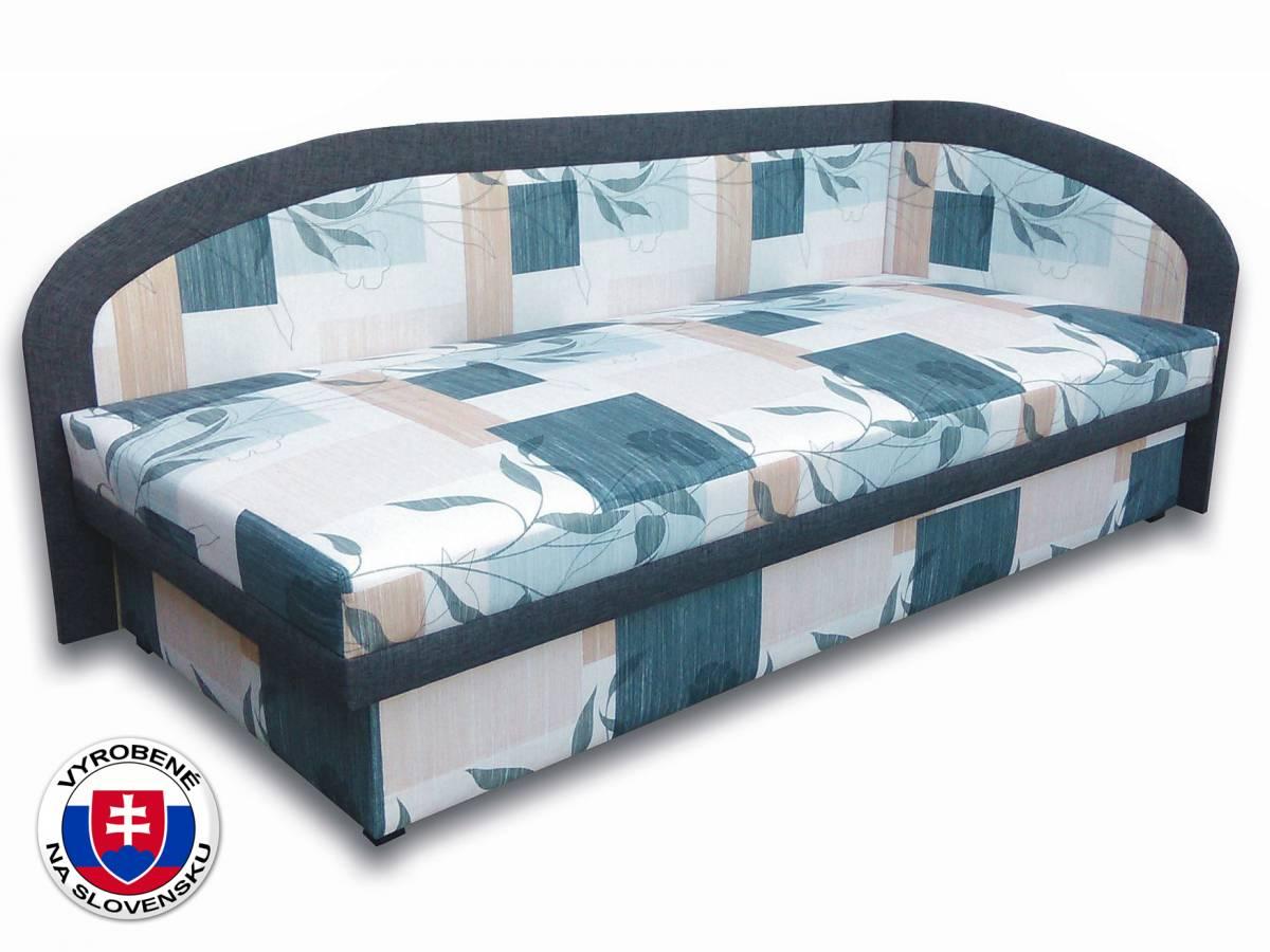 Jednolôžková posteľ (váľanda) 80 cm Melinda (Ramona 3A + Falcone 5) (P)
