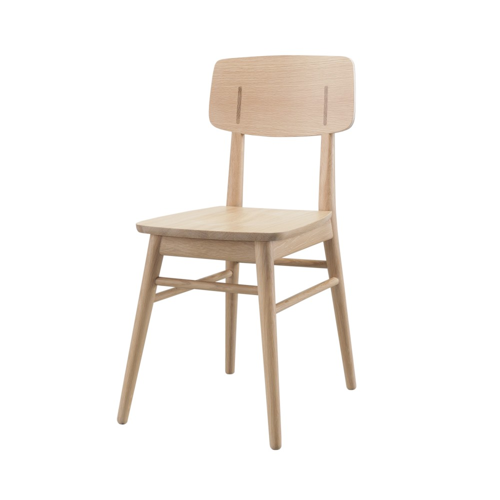 Jedálenská stolička z dubového dreva Wewood - Portugues Joinery Country