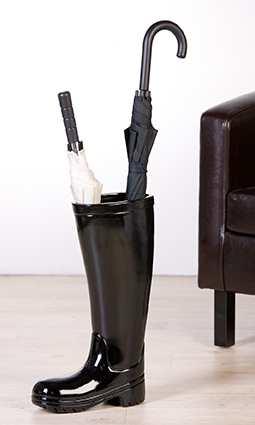Stojan na dáždnik AMELAND - čierna