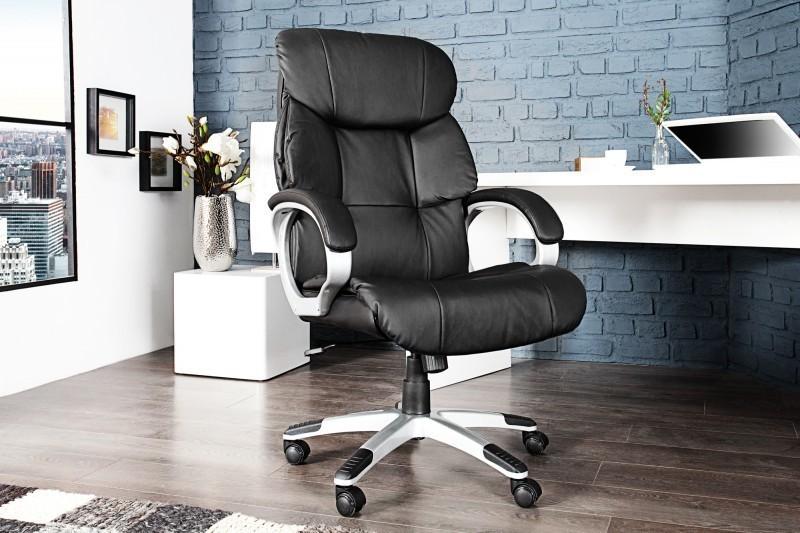 Kancelárska stolička HIGH XXL - čierna