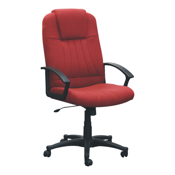 Kancelárske kreslo TC3-7741   farebné prevedenie: bordovo-červená