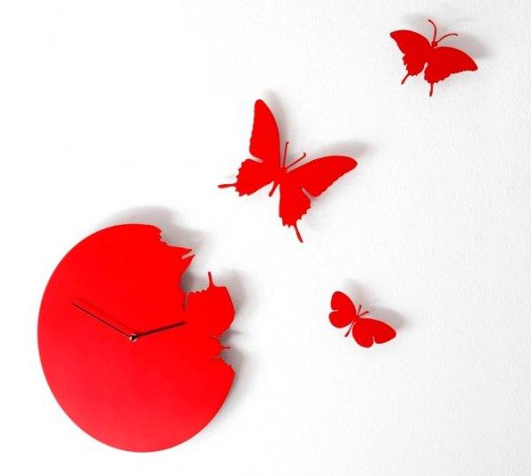 Diamantini & Domeniconi Butterfly red