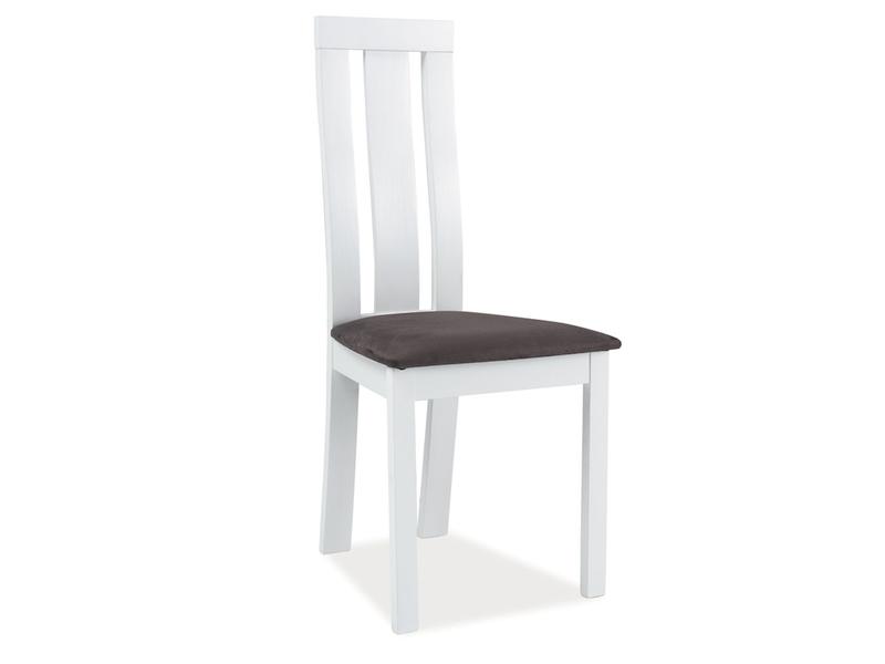 K-27 jedálenská stolička, biela