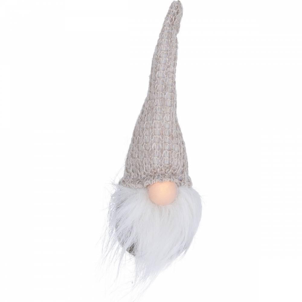 Koopman Vianočný škriatok Triandal svetlohnedá, 19 cm