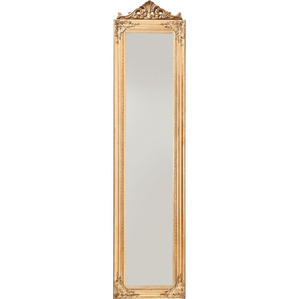 Stojacie zrkadlo v zlatej farbe Kare Design Baroque