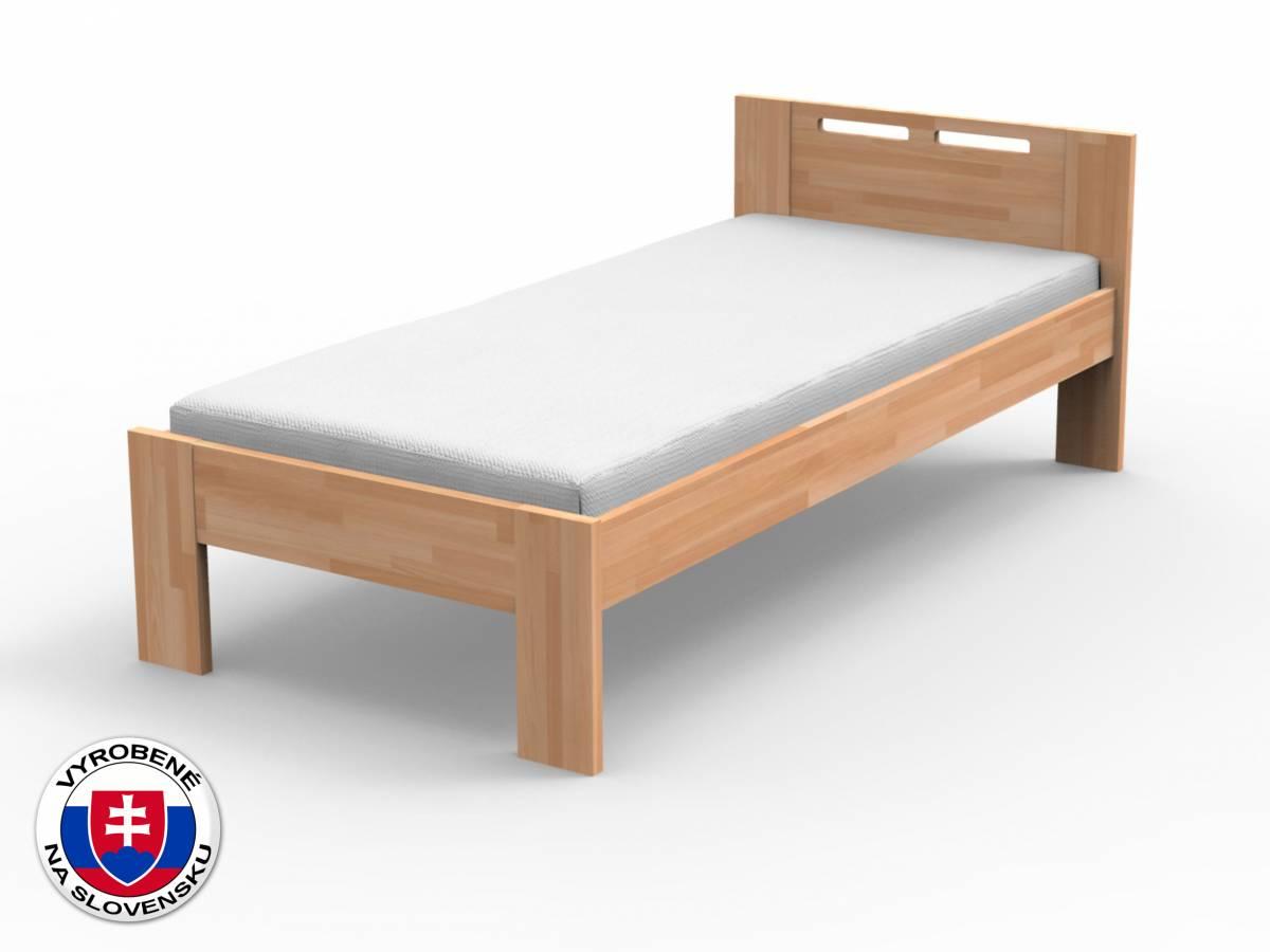 Jednolôžková posteľ 90 cm Nela (masív buk)