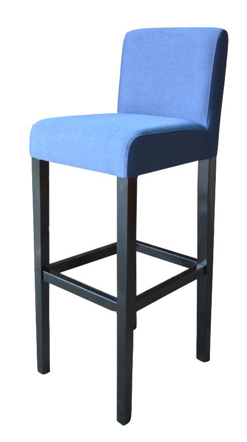 SKOTI 3 barová stolička, látka na výber