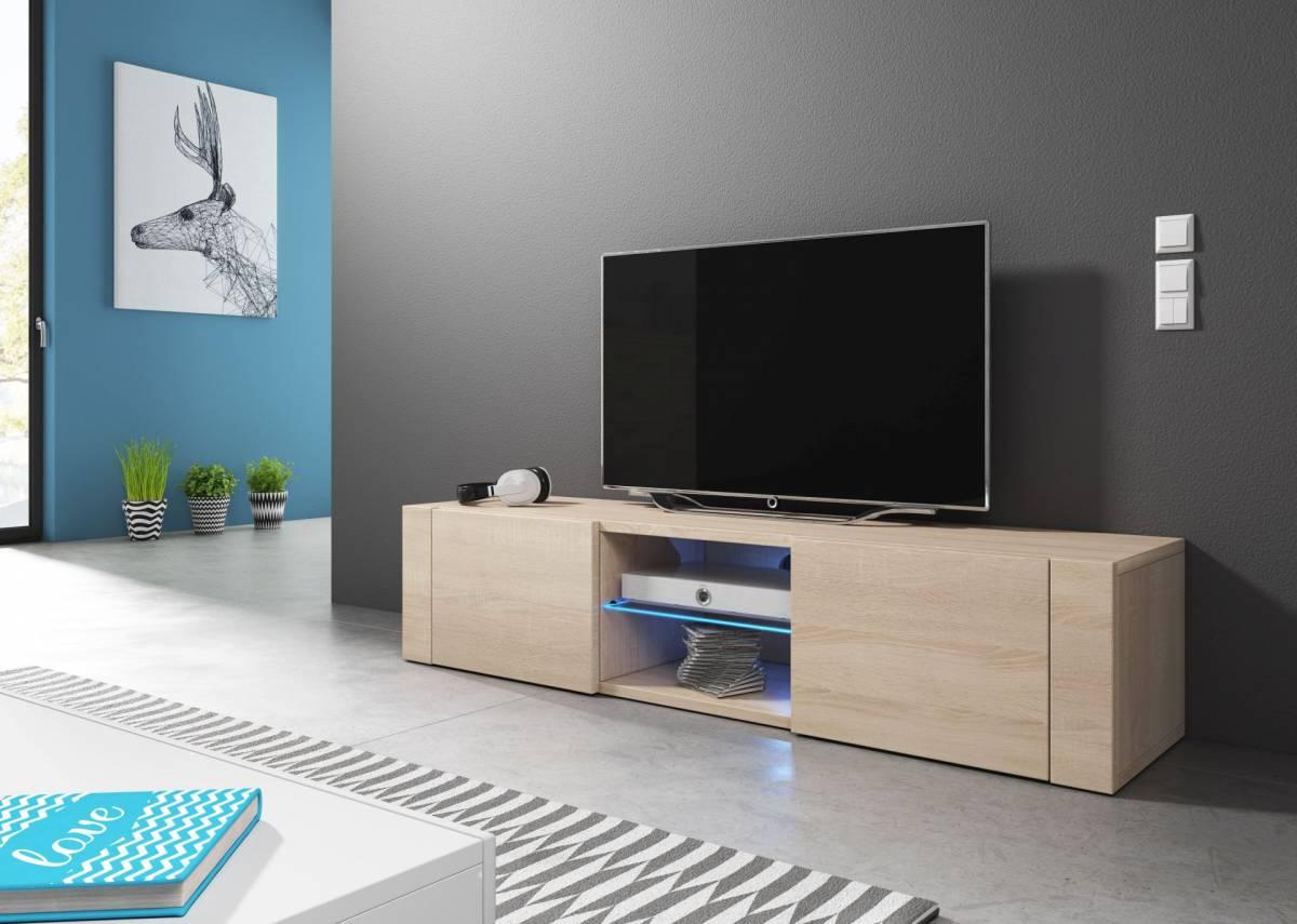 TV stolík/skrinka Hit (dub sonoma)
