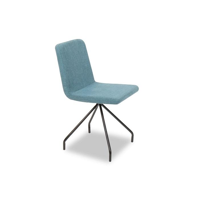 Jedálenská stolička Talip (tyrkysová)
