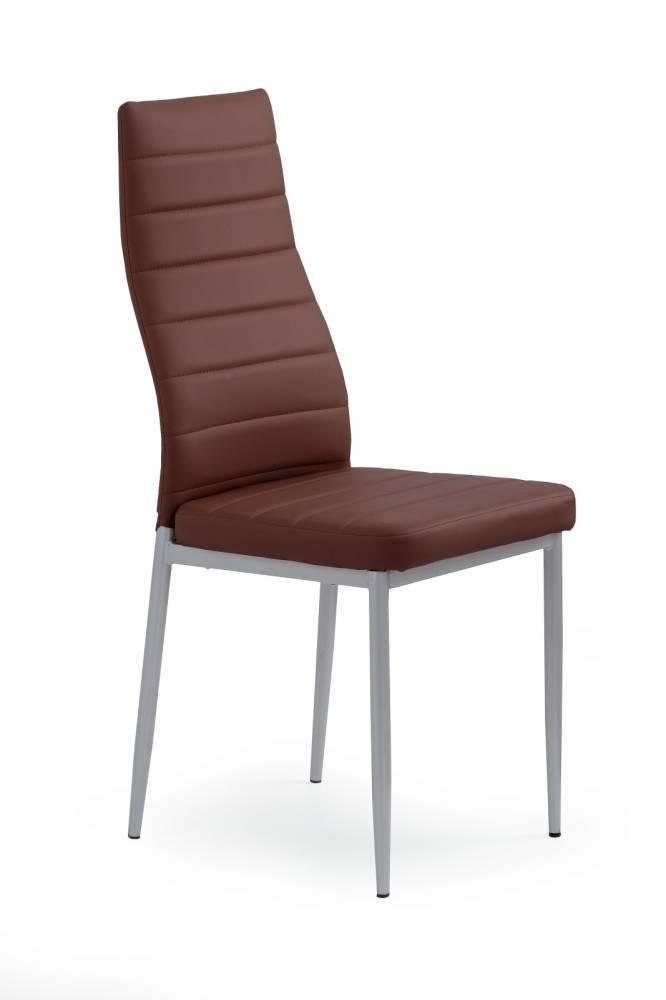 Jedálenská stolička K70 tmavohnedá