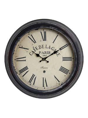 Nástenné hodiny Antique HOME 24690 cafe, 47cm