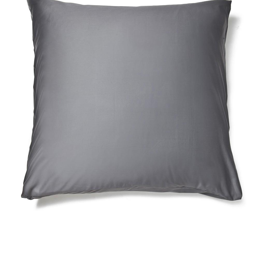 Sivá obliečka na vankúš Casa Di Bassi Basic, 80×80 cm
