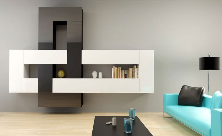 Moderná obývacia stena BRILIANT I