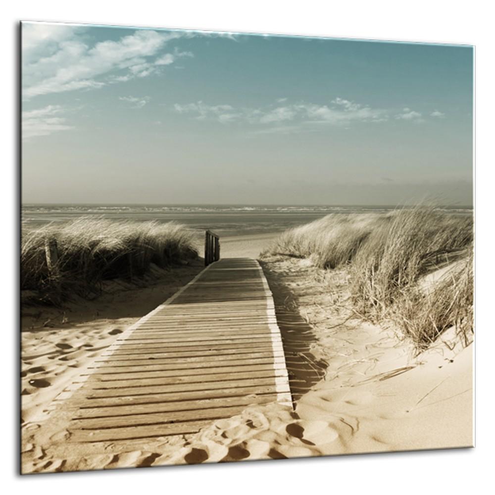 Obraz Styler Glasspik Harmony Dunes, 30×30 cm
