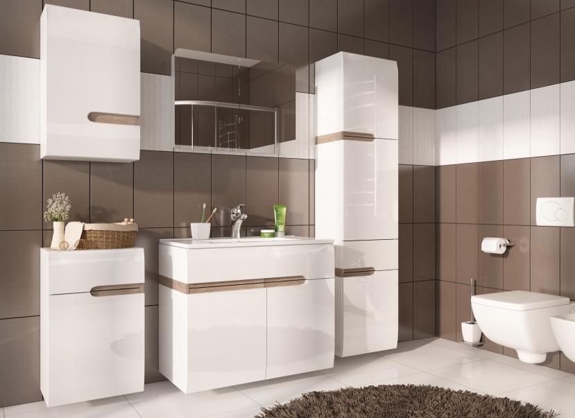 LINADE kúpeľňová zostava, 150+155P+156L+157L+160