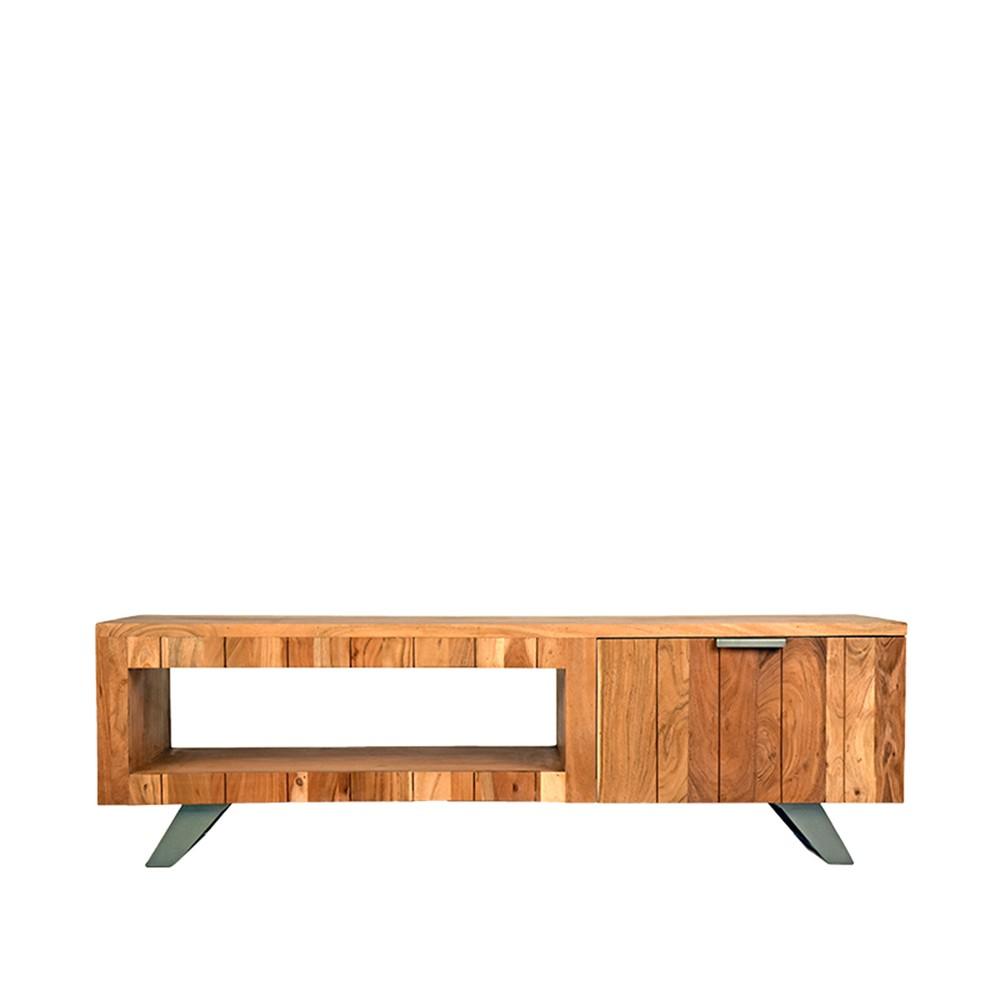 TV stolík z akáciového dreva LABEL51 Milaan