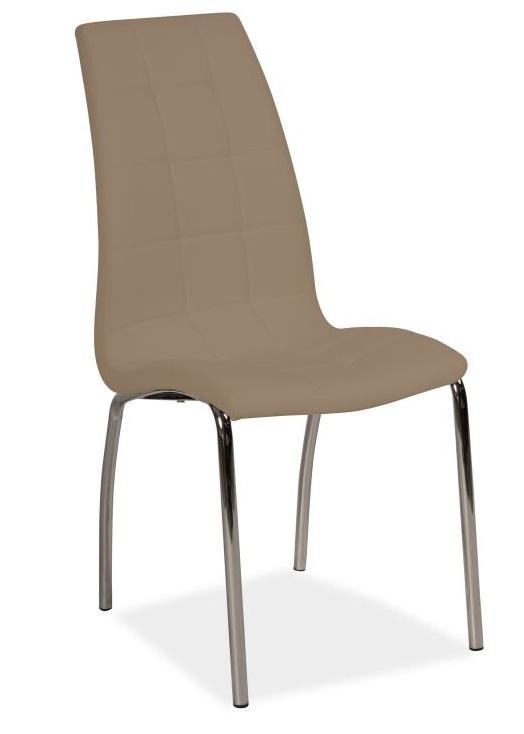 SIGNAL H-104 jedálenská stolička - tmavá béžová