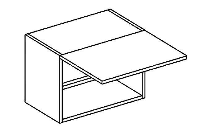 BIANCA horná výklopná skrinka W50OKGR