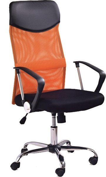 Kancelárska stolička VIRE oranžová