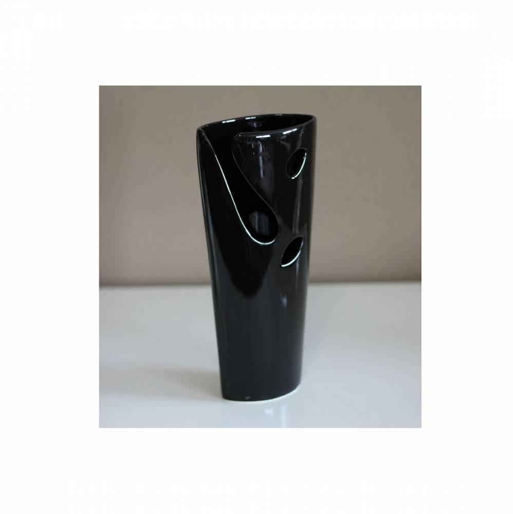 Autronic Keramická váza - černá