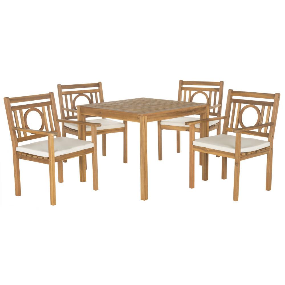 Set stola a stoličiek Safavieh Mendoza II