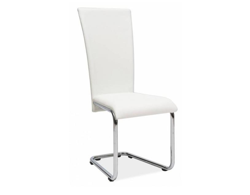 Jedálenská stolička HK-224, biela