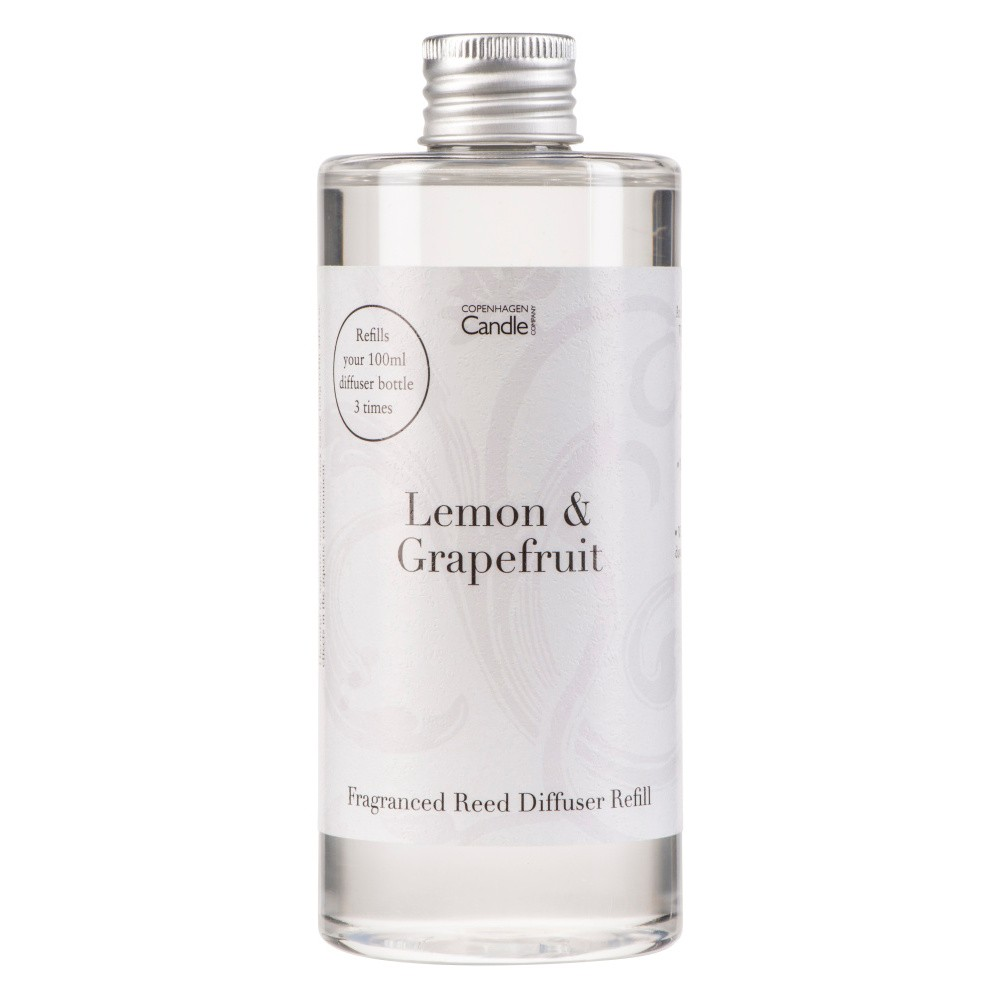 Náplň do aróma difuzéru Copenhagen Candles Lemon & Grapefruit Home Collection, 300 ml