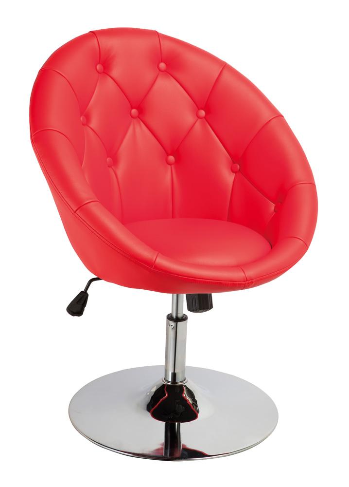 Barová stolička C-881 Krokus červená