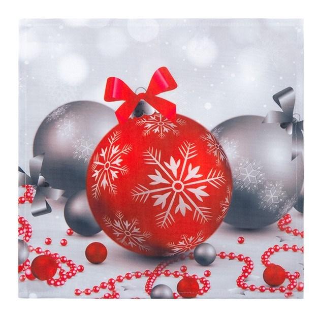 Forbyt Vianočný obrus vianočné ozdoby, 35 x 35 cm, 35 x 35 cm