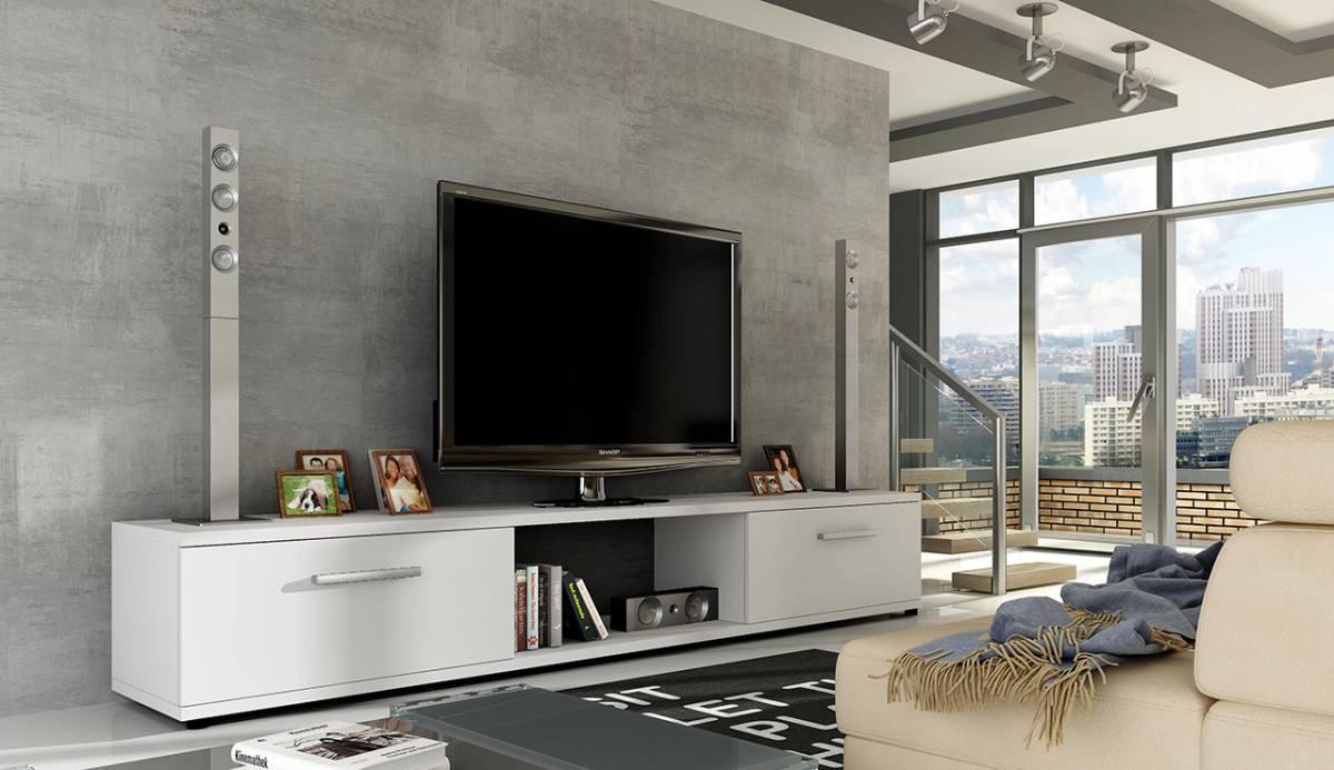 MALTEZ TV stolík biely