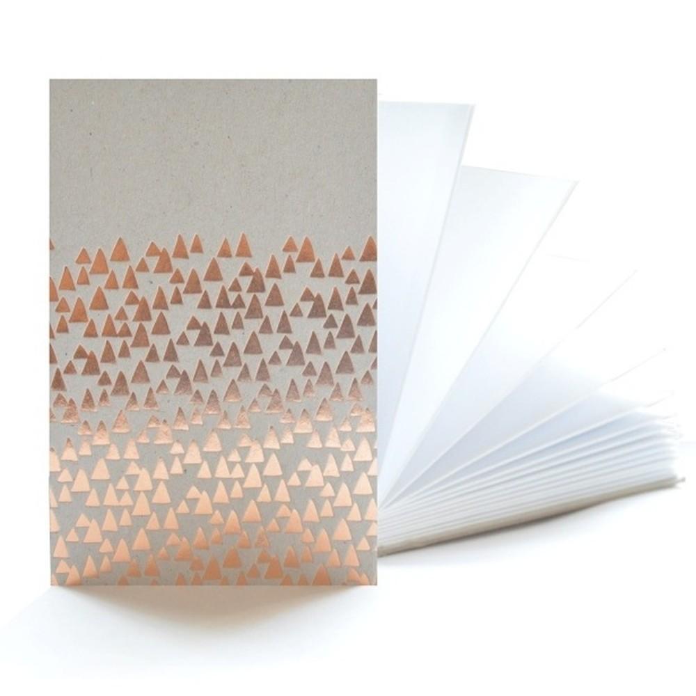 Medený zápisník Mon Petit Art Accordeon