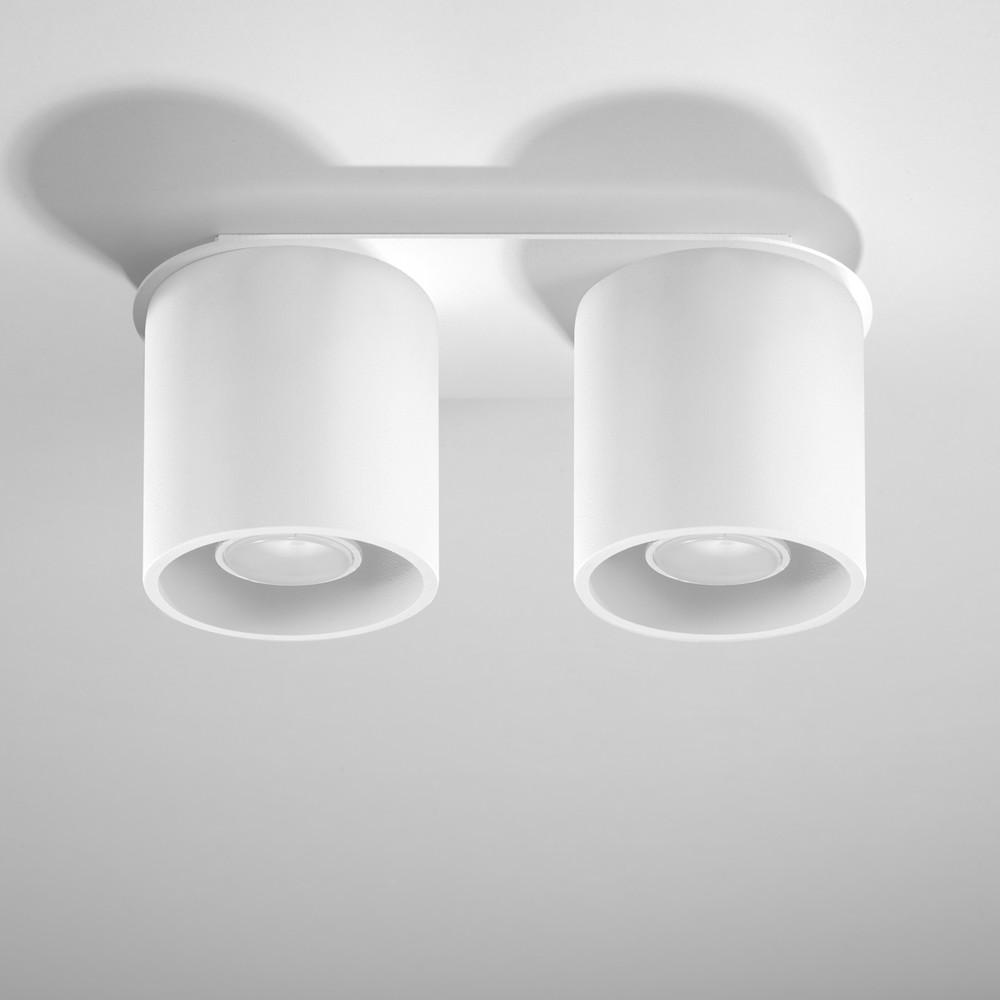 Biele stropné svetlo Nice Lamps Roda 2