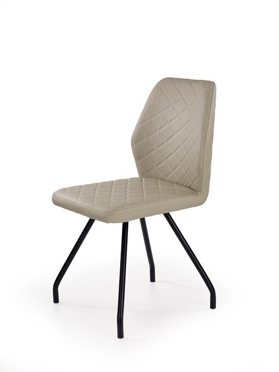 Jedálenská stolička K242 (cappuccino)