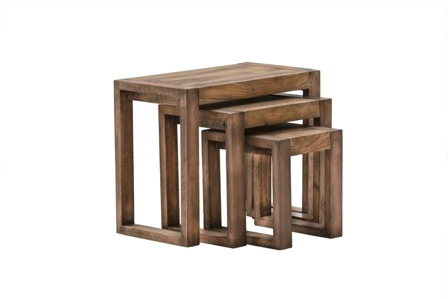 Trojdielny stôl DESERT