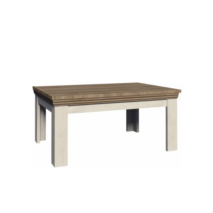 TEMPO KONDELA Konferenčný stolík, sosna nordická/dub divoký, ROYAL LN