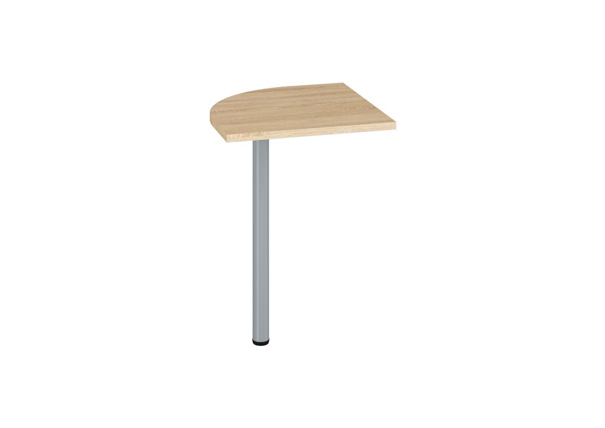 Prídavný kancelársky stôl OPTIMAL 21 / sonoma svetlá