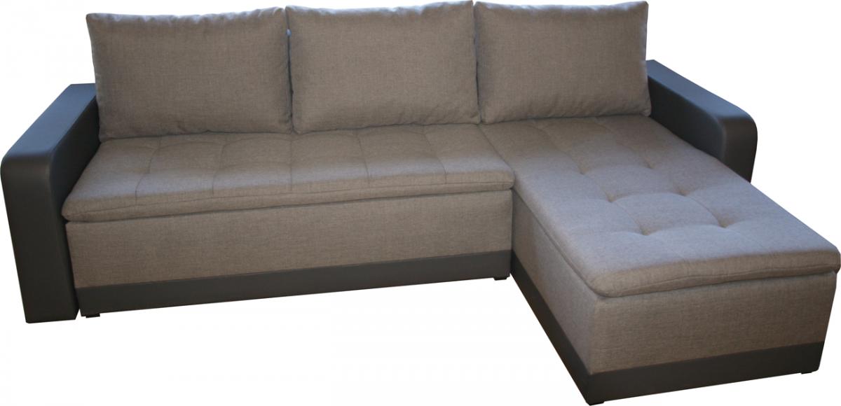 Rohová sedačka DOMINIK, látky na výber