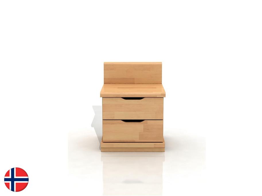 Nočný stolík Naturlig Tosen High 2S (buk)