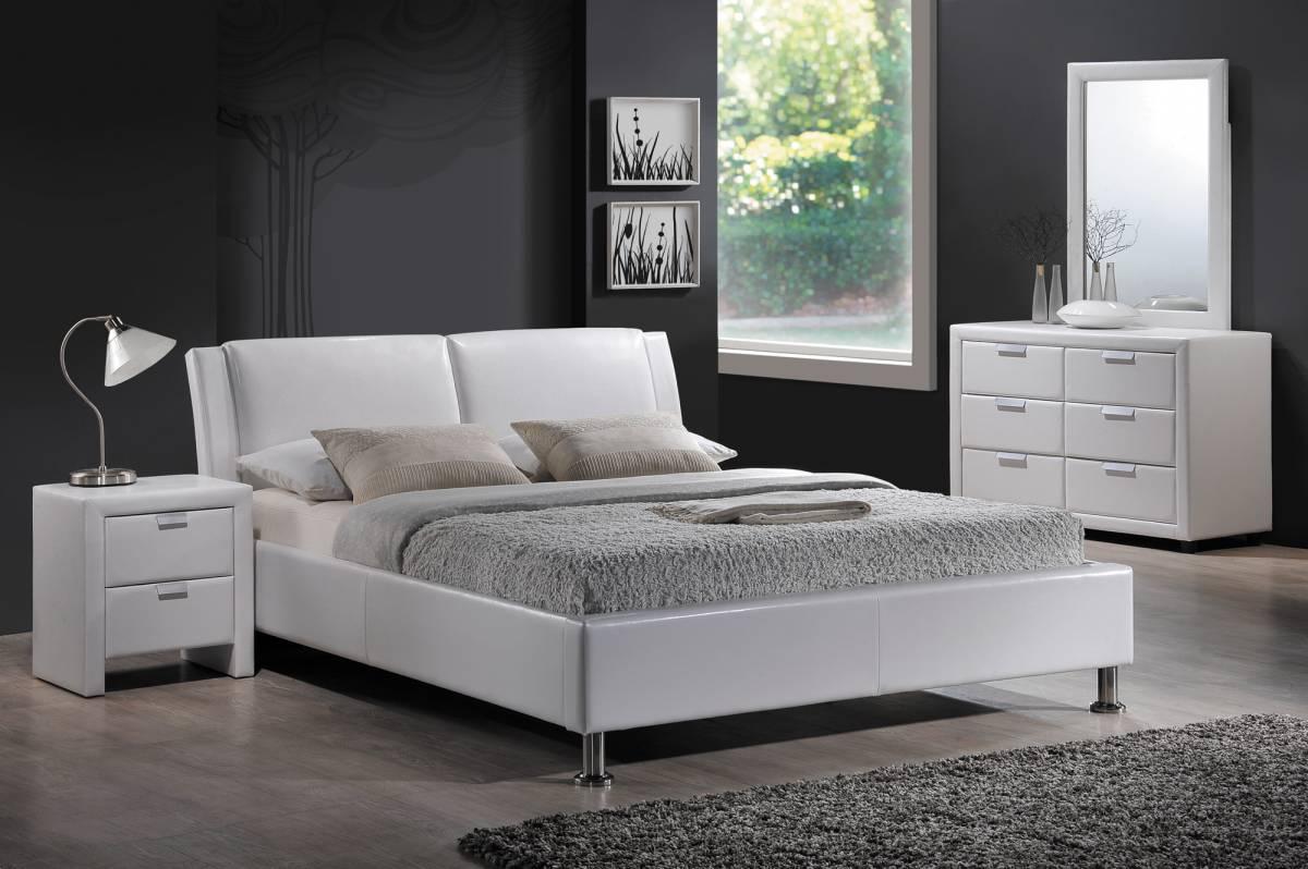 Manželská posteľ 140 cm Mito (s roštom)