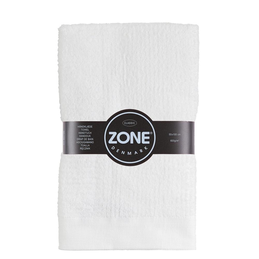 Biely uterák Zone, 100 x 50 cm