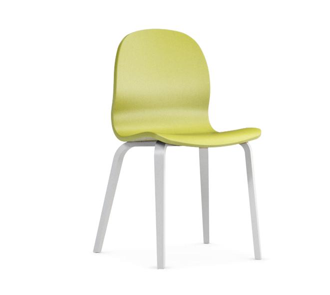 Jedálenská stolička Possi zelená   Farba: zelená/biela