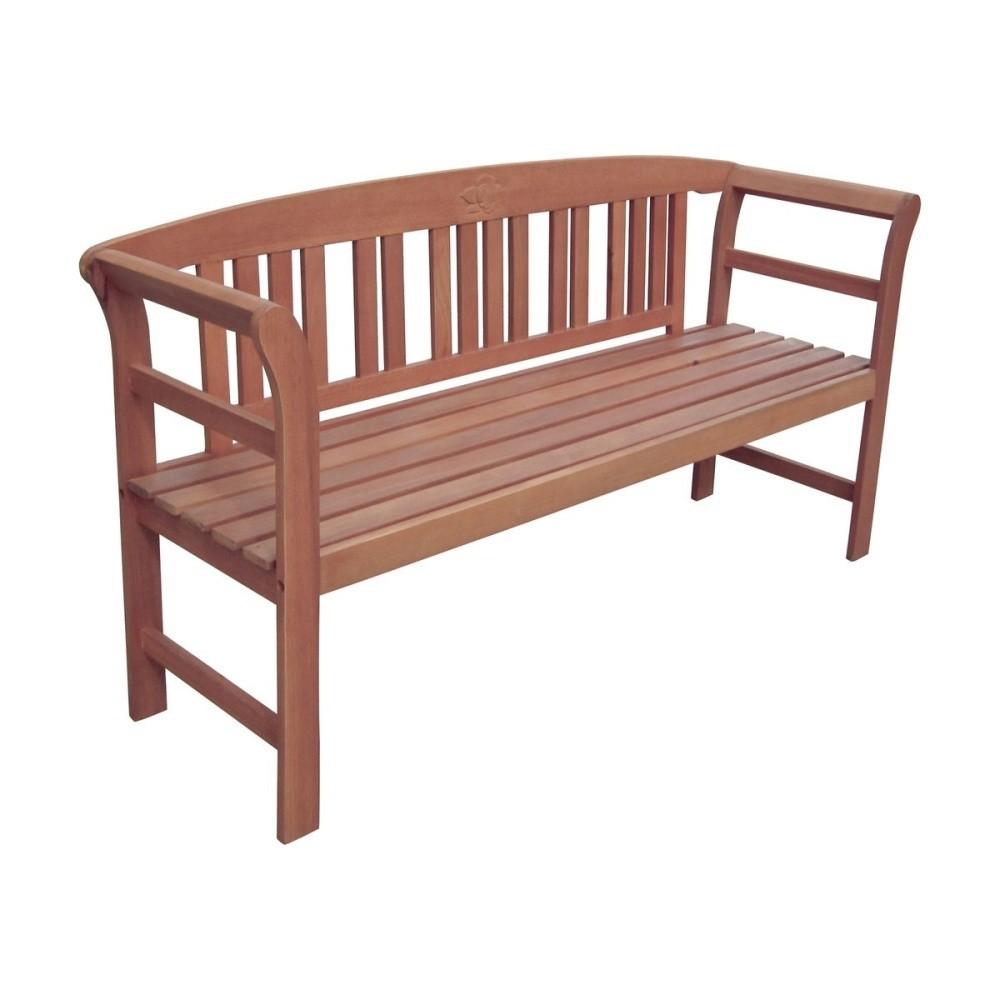 Záhradná lavica z eukalyptového dreva ADDU Harland