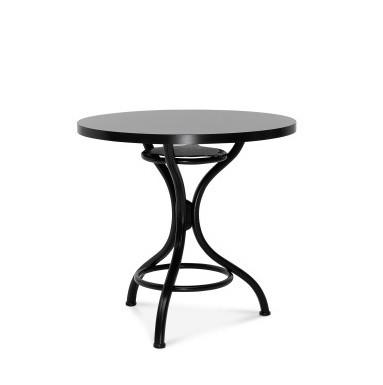 Čierna stolička Fameg Torben