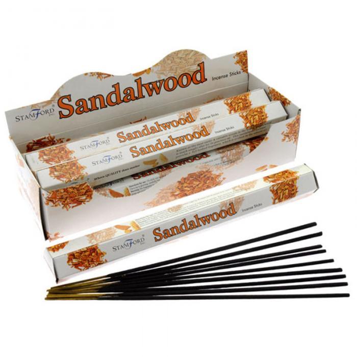 Stamford Premium Hex Range vonné tyčinky Sandalové drevo