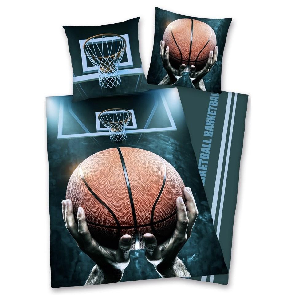 Herding Bavlnené obliečky Basketball, 140 x 200 cm, 70 x 90 cm